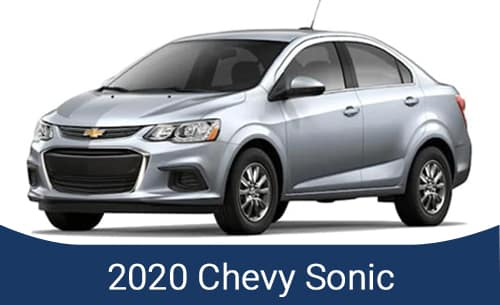 2021 Chevy Sonic Specials