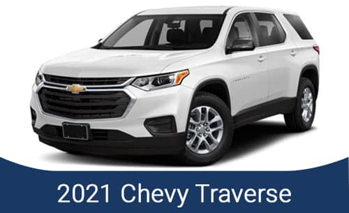 2021 Chevy Traverse Specials