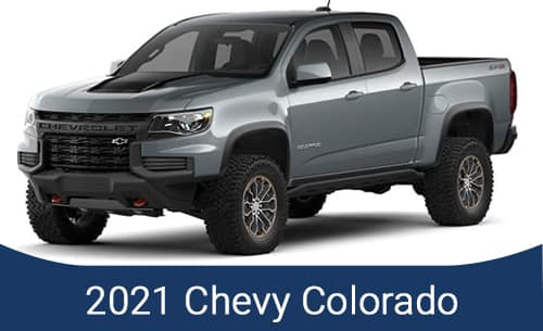 2021 CHEVY COLORADO SPECIALS