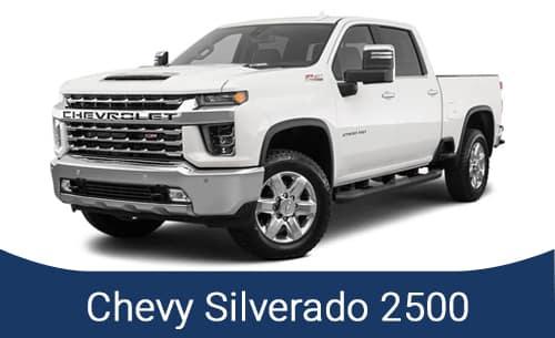 2021 Silverado 2500