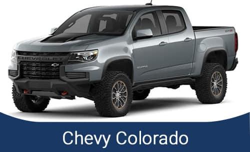 Grey Chevy Colorado