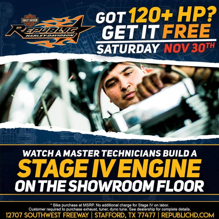 Stage IV Engine