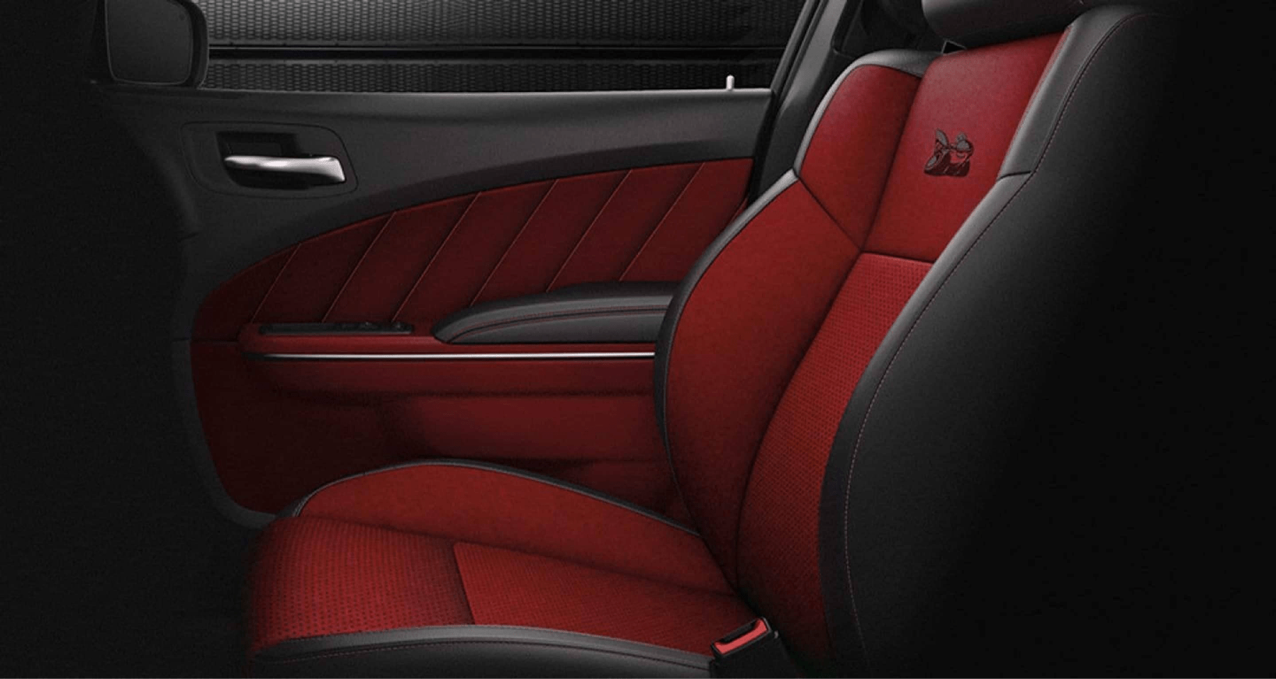 Charger interior seats