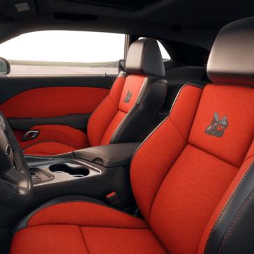 Dodge Challenger bucket seats