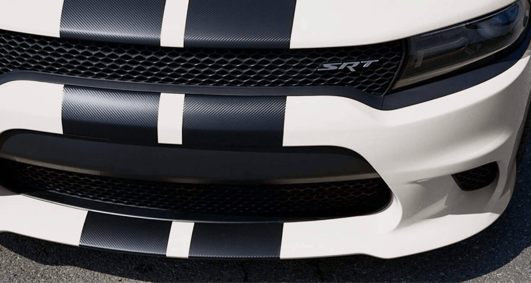 front Charger grill