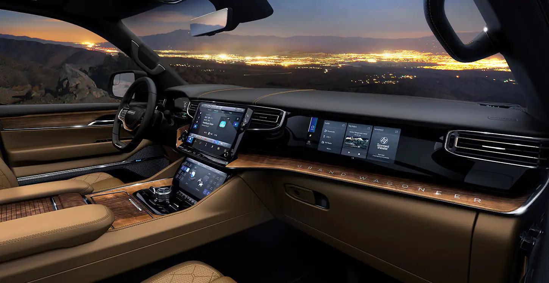Dashboard of 2022 Jeep Wagoneer