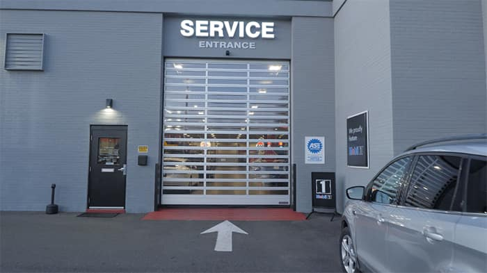 Road Ready service entrance