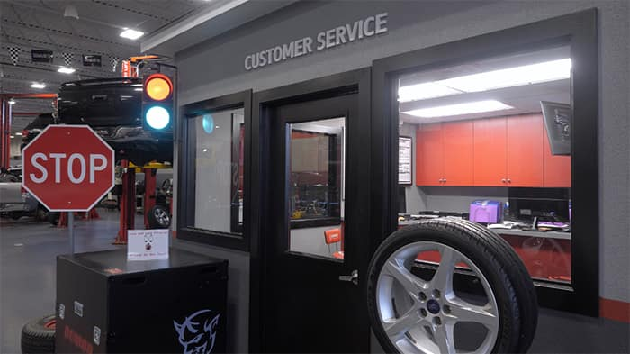 Road Ready customer service desk