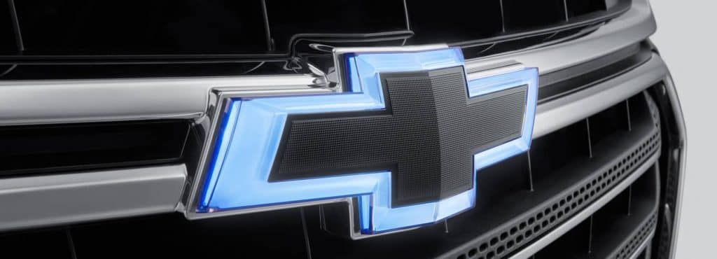 Chevy logo on grille