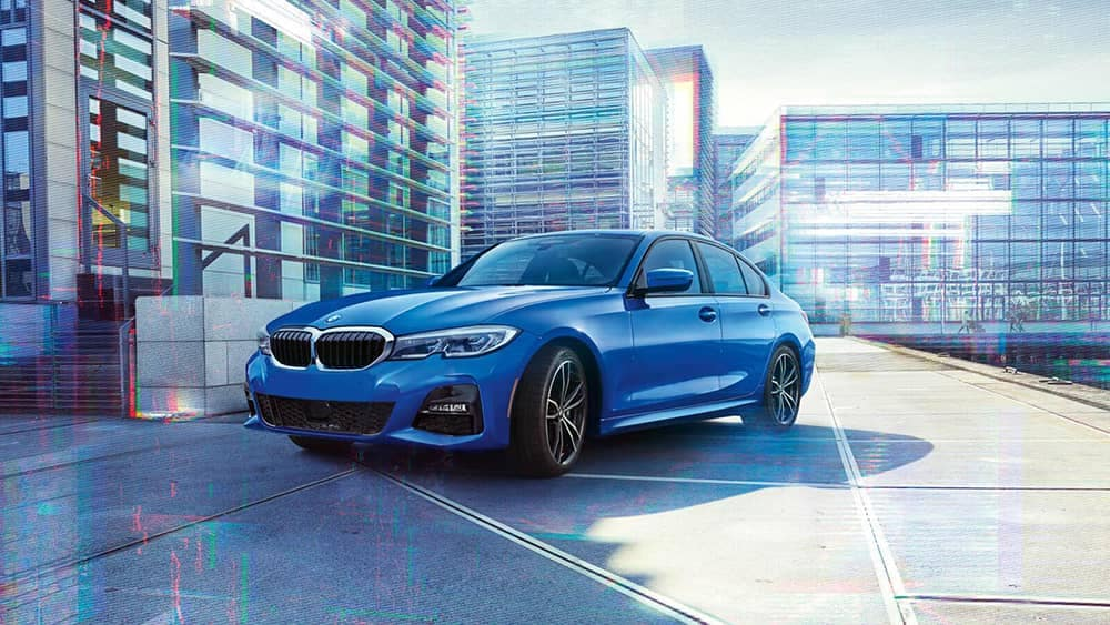 2020 BMW 3 Series Parked