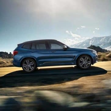 2020 BMW X3 Side View