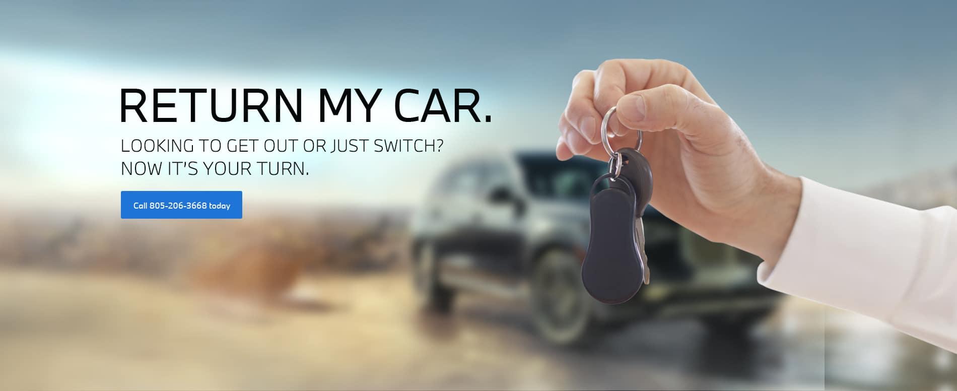 Return my car BMW copy