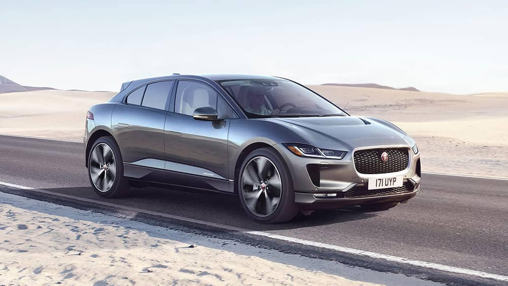 2019 Jaguar I-Pace Driving