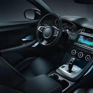 2020 Jaguar E-Pace Checkered Flag Interior
