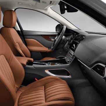 2020 Jaguar F-Pace Cabin
