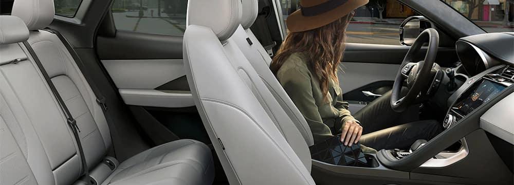 2022 Jaguar E-PACE Interior Profile