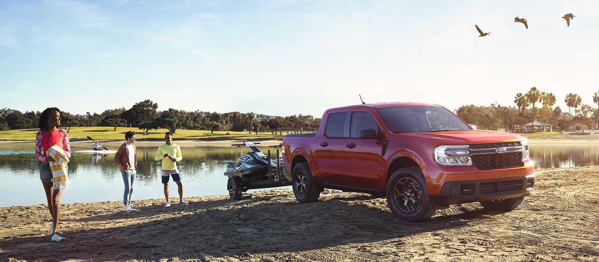 Ford Maverick towing