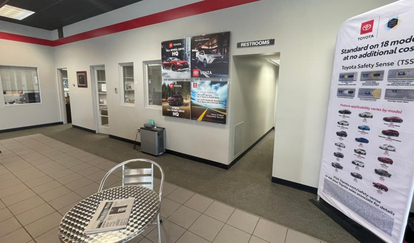 Image of the Shepard Toyota Showroom