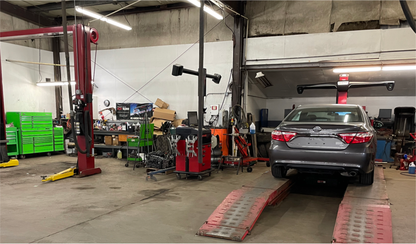 Image of the Shepard Toyota Service Center