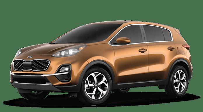 2020 Kia Sportage Orange