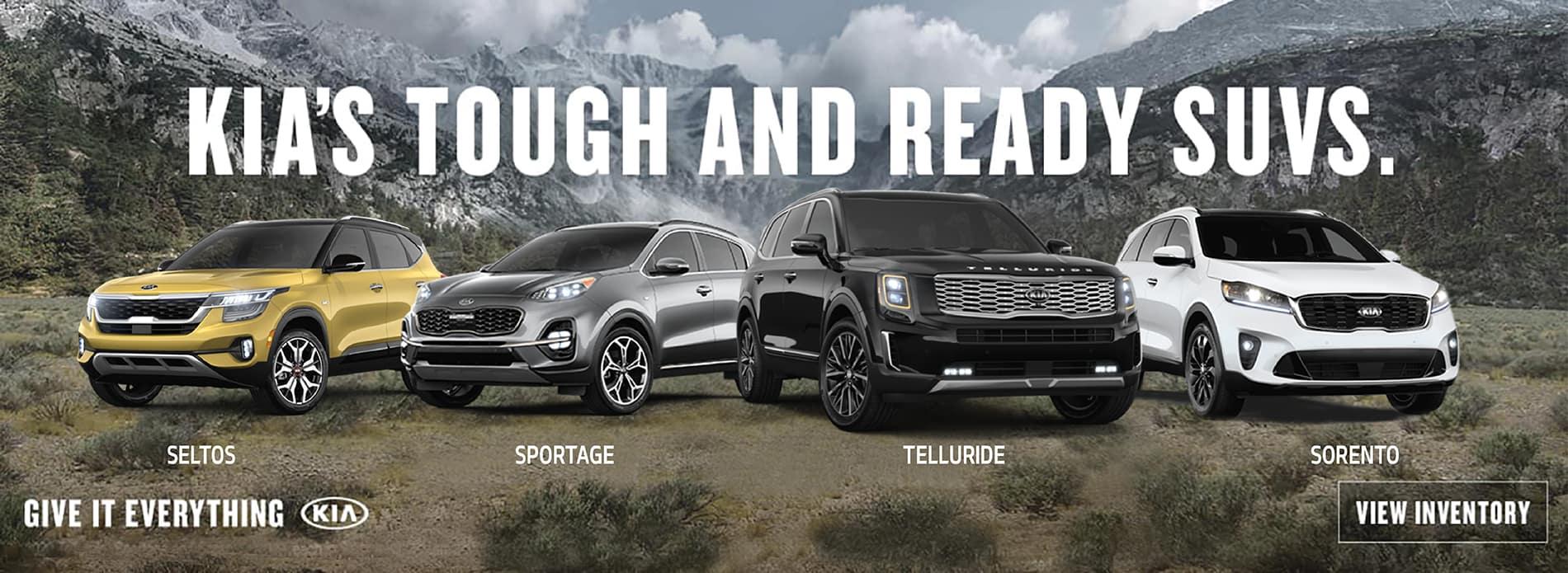 Tough and Ready SUVs