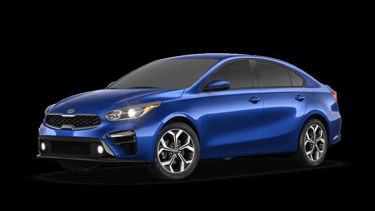2020 Kia Forte LXS in blue