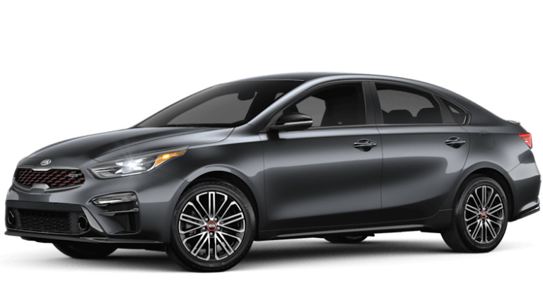 2020 Kia Forte GT in gray