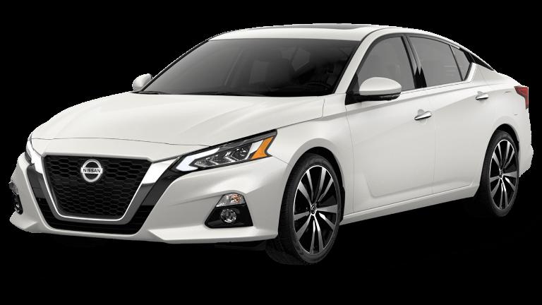 2020 Nissan Altima Platinum in White