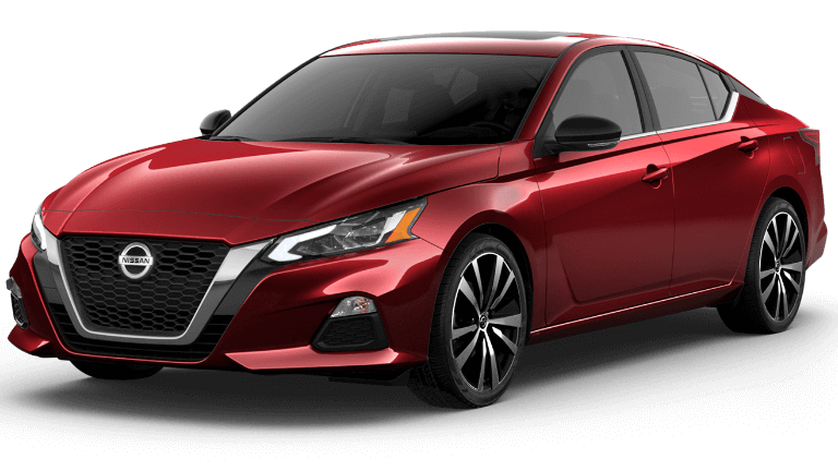 2020 Nissan Altima SR VC-TurboTM in red