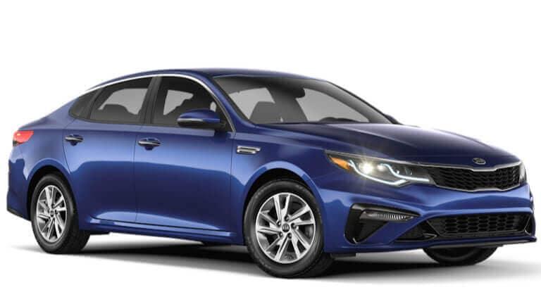 2020 Kia Optima LX in blue