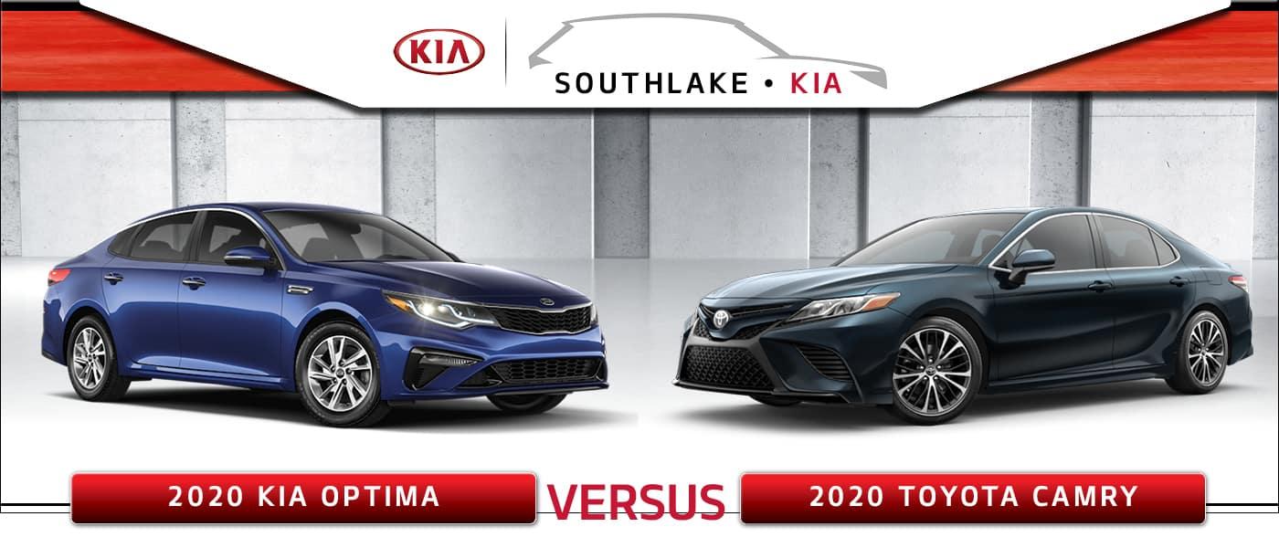 2020 Kia Optima vs. 2020 Toyota Camry