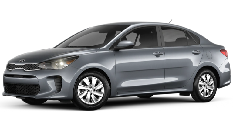 2020 Kia Rio in gray