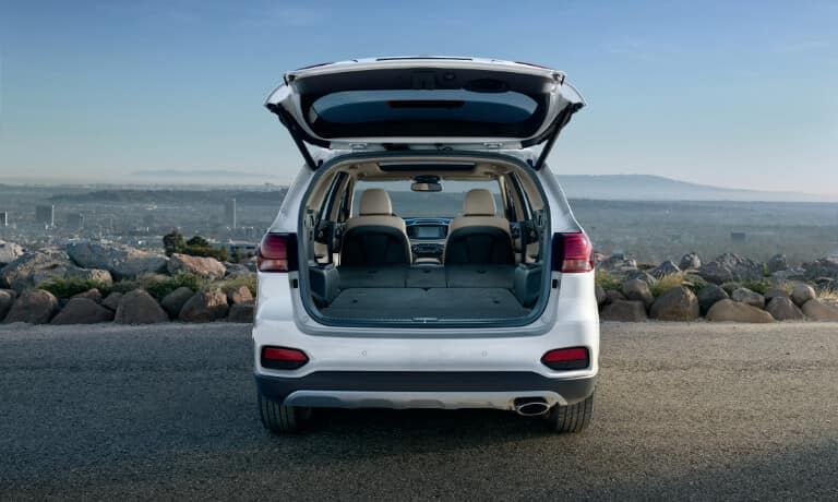 2020 Kia Sorento Exterior Rear View With Hatch Open
