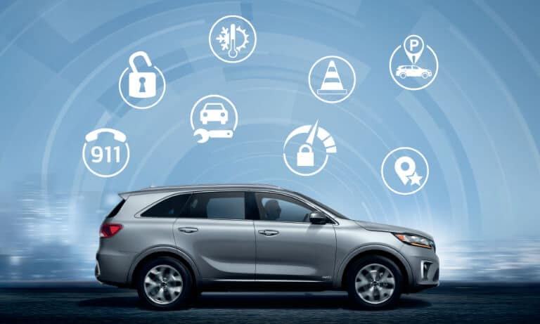 2020 Kia Sorento Exterior Safety&Tech Features