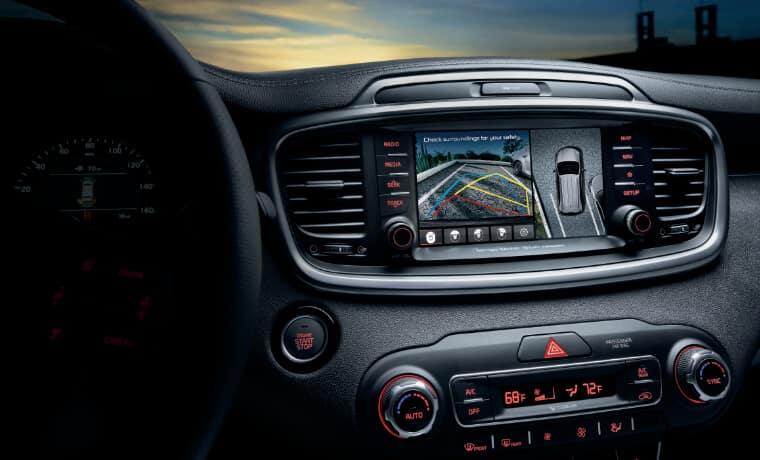 2020 Kia Sorento Interior Infotainment System
