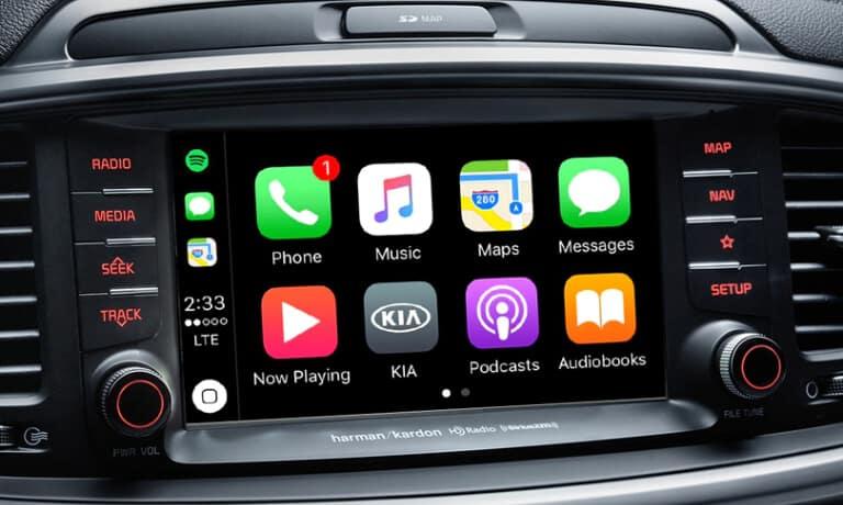 2020 Kia Sorento Interior Infotainment SystemApps