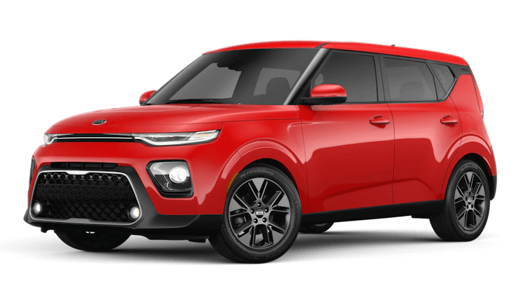 2020 Kia Soul EX in InfernoRed