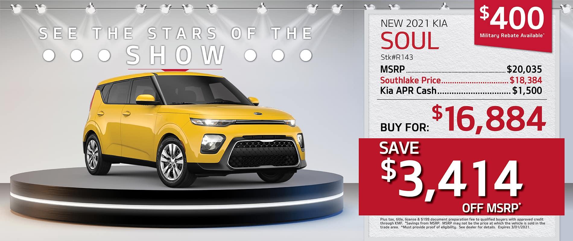 2021 Kia Soul Finance Offer | Merrillville, Indiana