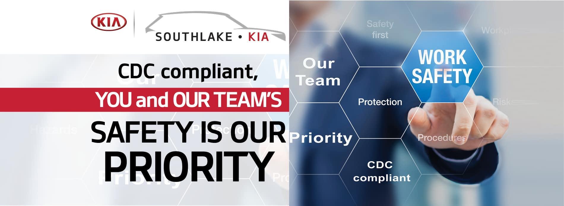 CDC Compliant | Southlake Kia