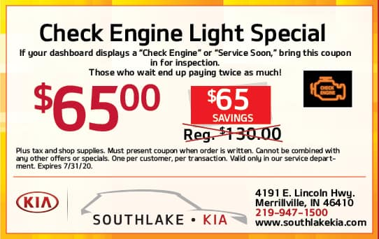 Engine Light Service