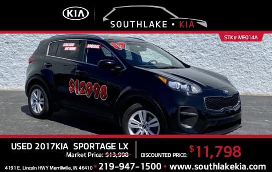 Used 2017 Kia Sportage special   South Lake Kia