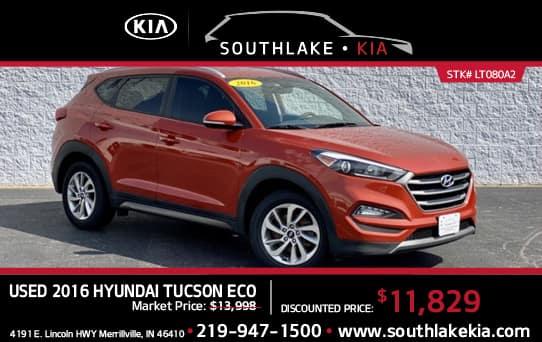 Used 2016 Hyundai Tucson special   Southlake Kia