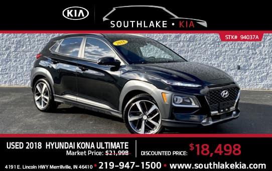 Used 2018 Hyundai Kona special   Southlake Kia