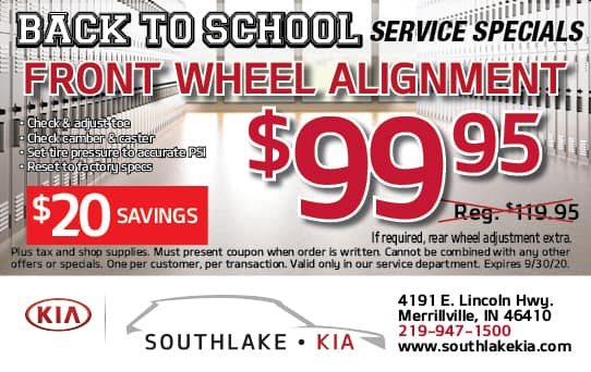 Front Wheel Alignment