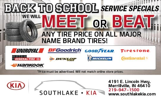 Meet or Beat Tire Special