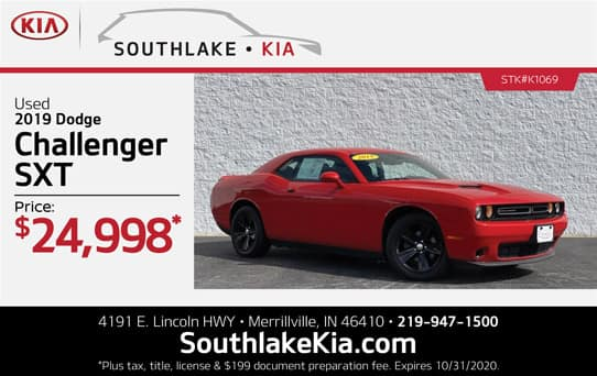 Used 2019 Dodge Challenger special | Southlake Kia