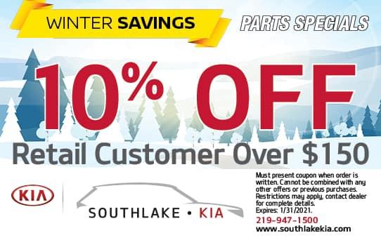10% Off Retail Custoomer Over $150