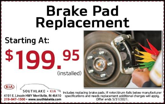Brake Pad Discount | Southlake Kia