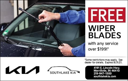 Free Wiper Blades | Southlake Kia