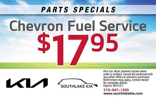 Chevron Fuel Service   Southlake Kia